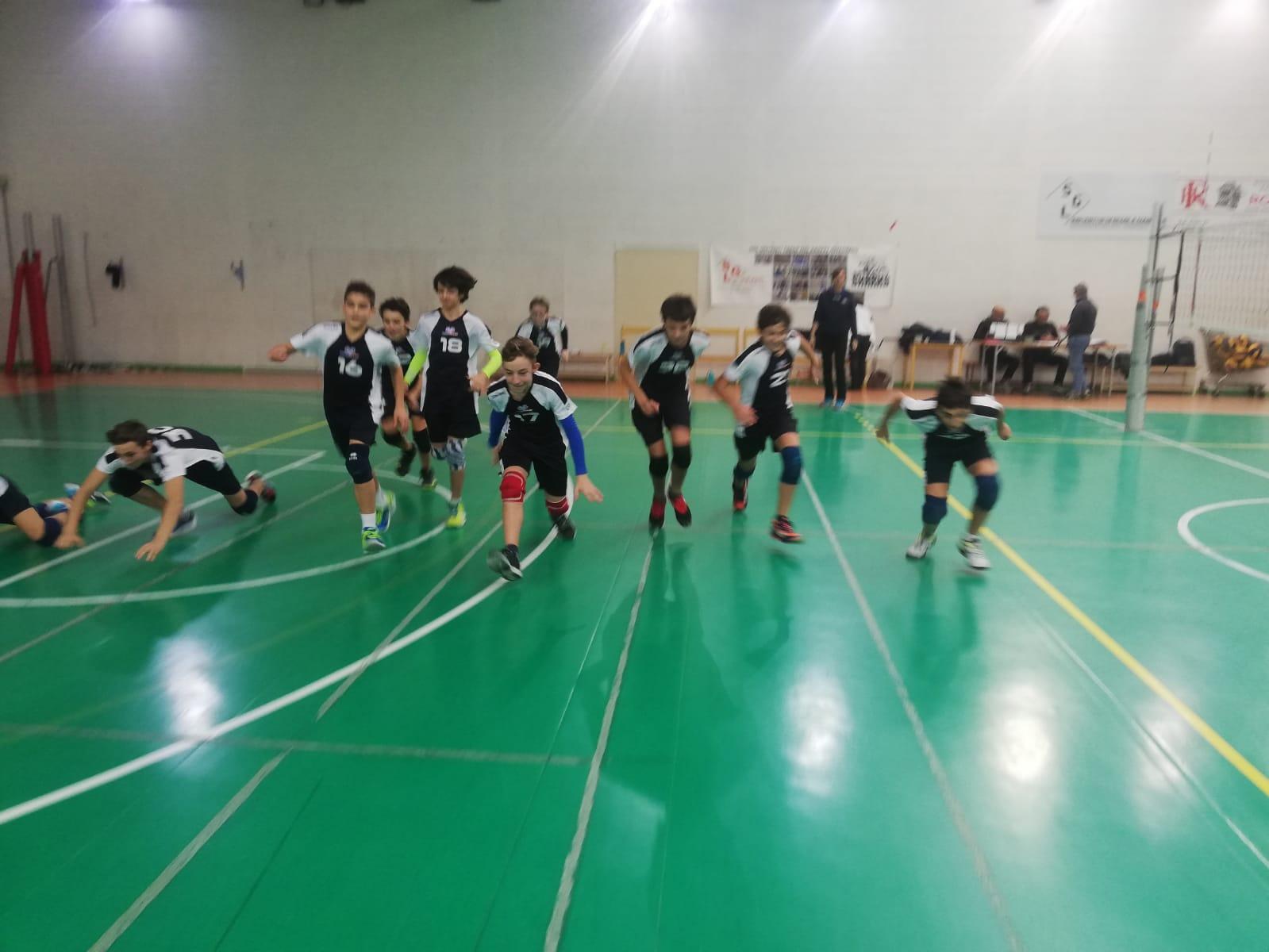 Pallavolo Avis Cernusco Merate U14 del 1 dicembre 2019