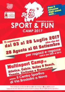 SPORT & FUN CAMP 2017