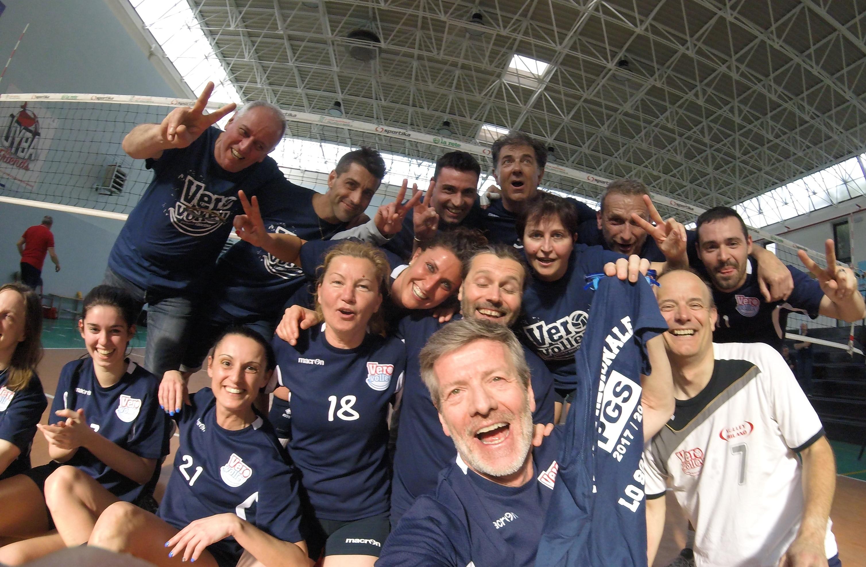 La gioia in campo dopo la vittoria della Finale Regionale
