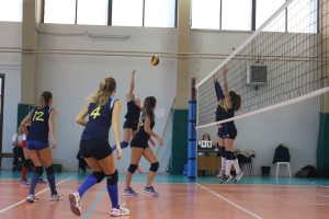 UNDER 16 VISCONTINI VOLLEY MILANO BLU vs A.S.D. SAN MASSIMILIANO KOLBE GIALLA